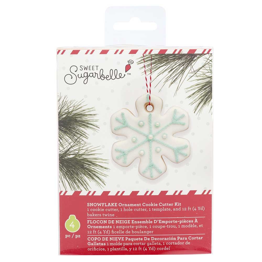 Snowflake Ornament Cookie Cutter Kit by Sweet Sugarbelle