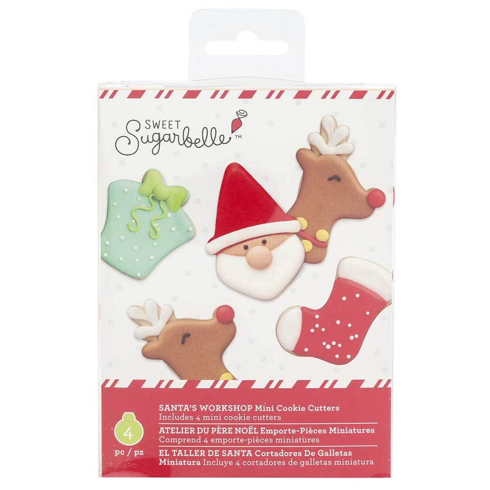 Santa's Workshop Mini Cookie Cutter Set by Sweet Sugarbelle