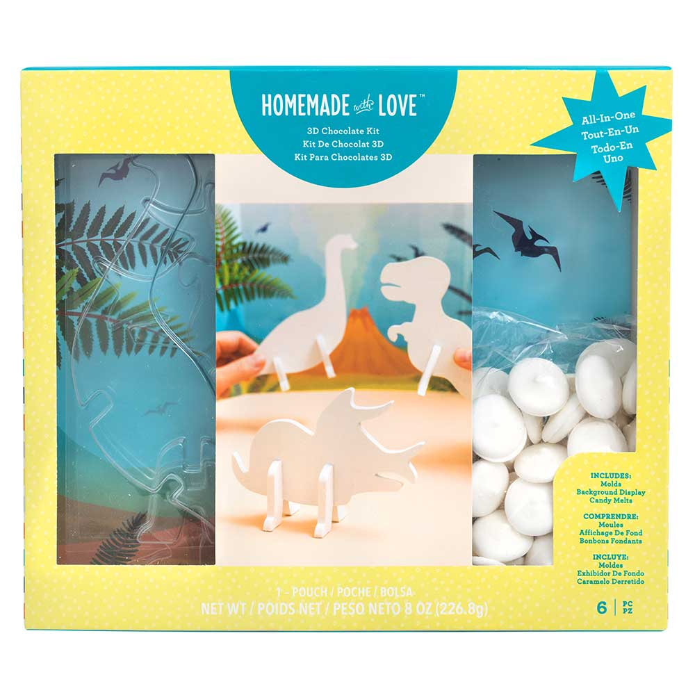 Dinosaur 3D Chocolate Kit