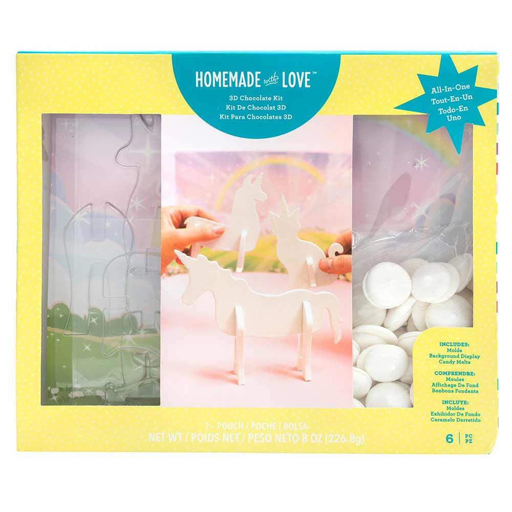 Unicorn 3D Chocolate Kit