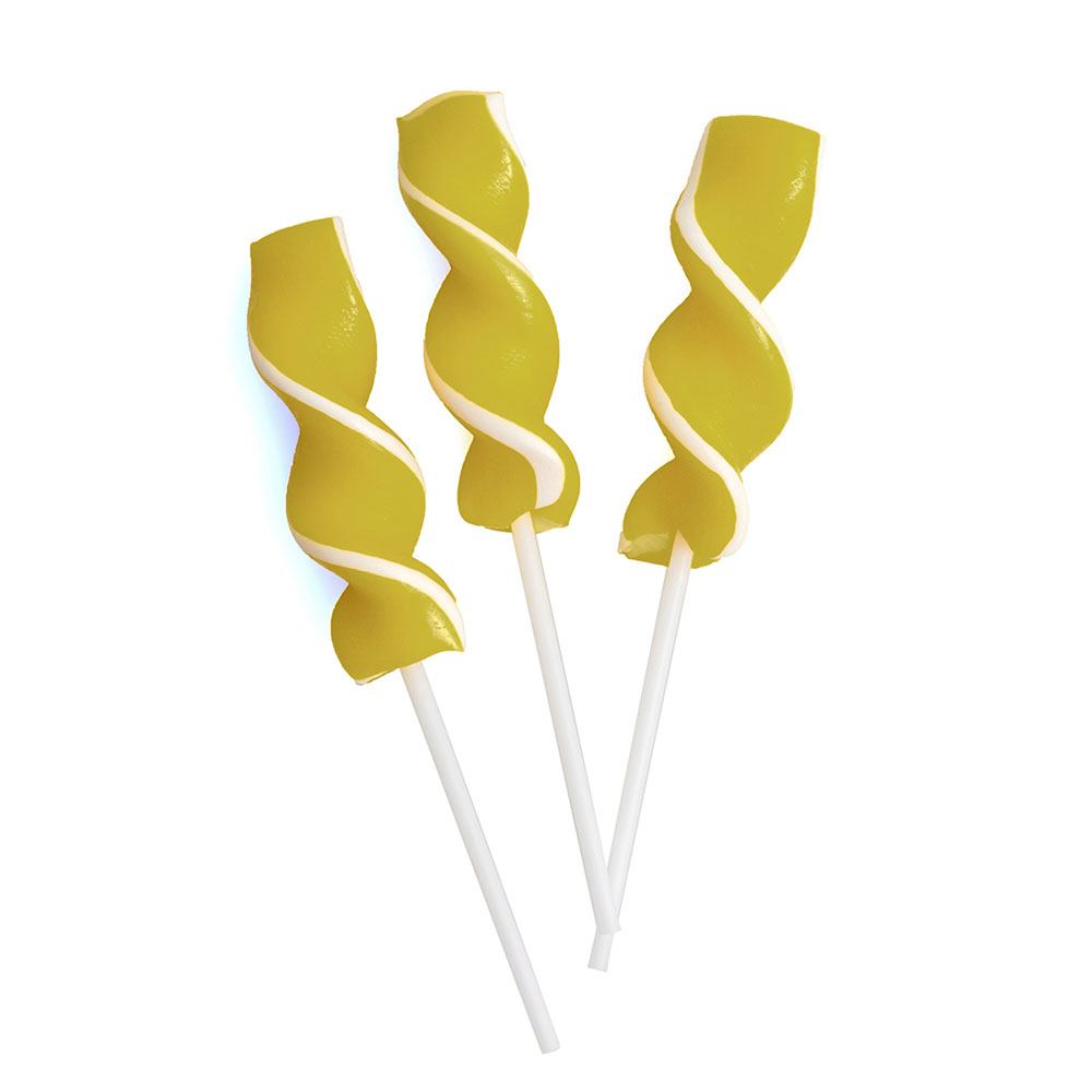 Gold Ribbon Pops
