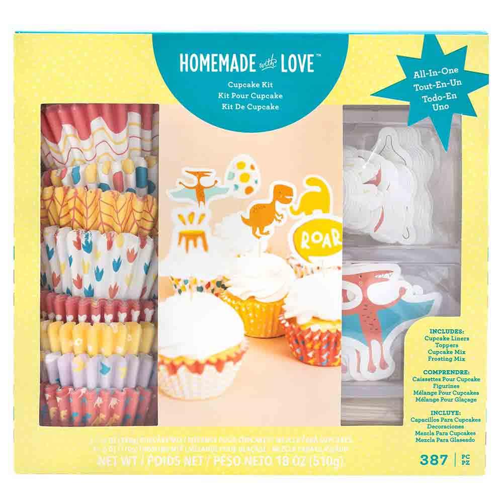 Dinosaur Cupcake Kit