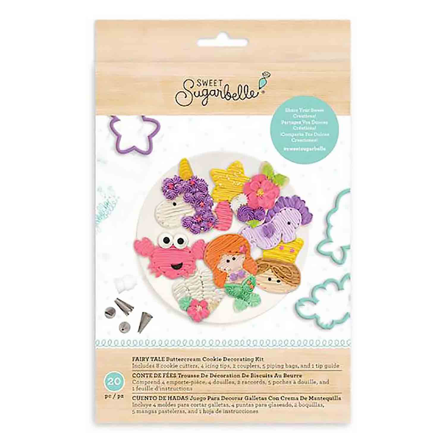 Fairy Tale Buttercream Cookie Decorating Kit