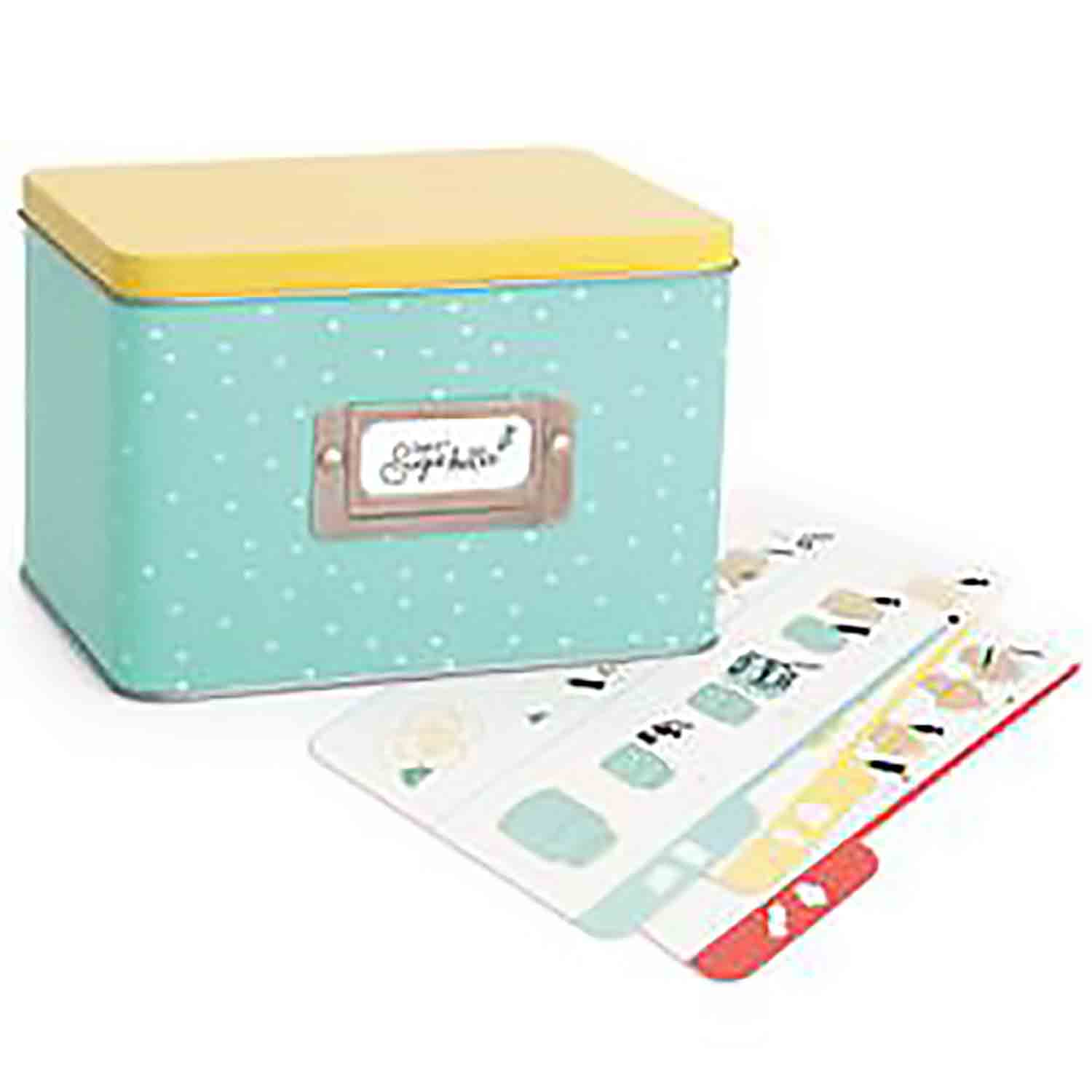 Recipe Card Tin