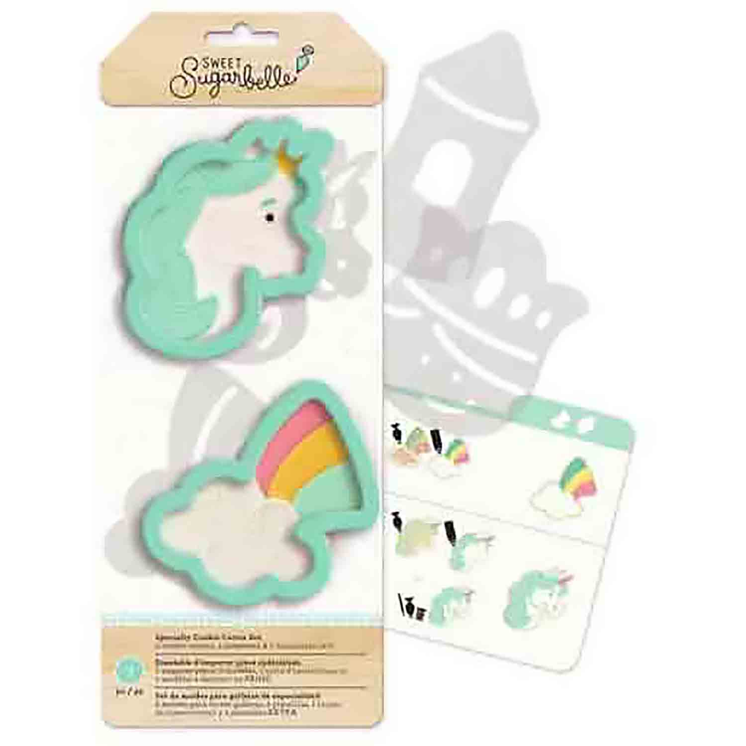 Enchanted Cookie Cutter Stencil Set by Sweet Sugarbelle
