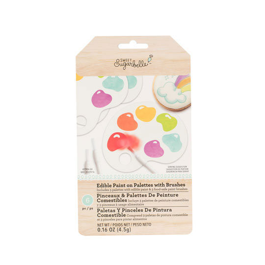 Primary Edible Paint Palette Set