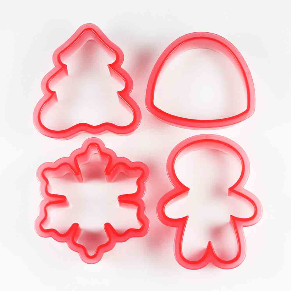 Winter Shape Shifters Cookie Cutter Stencil Set