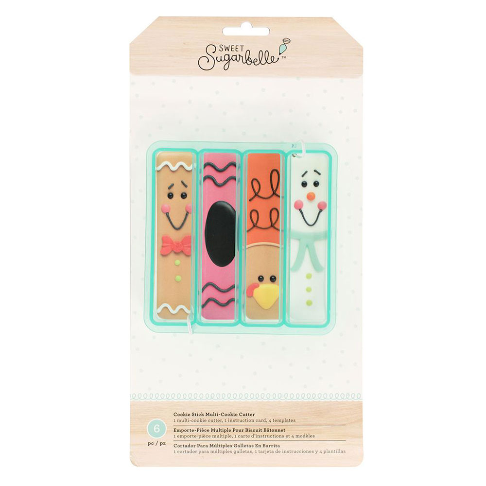 Cookie Stick Multi-Cookie Cutter Set by Sweet Sugarbelle