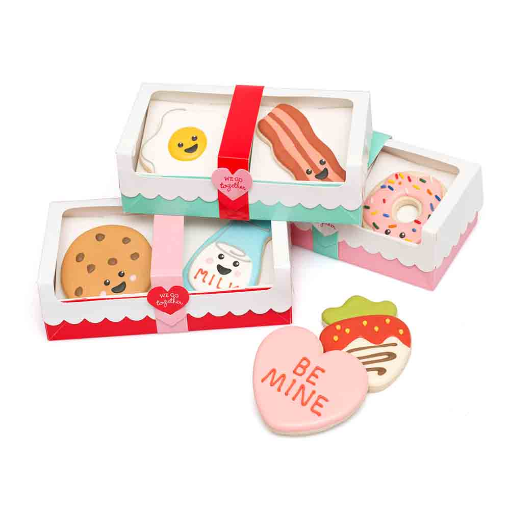 Double Cookie Box with Window by Sweet Sugarbelle