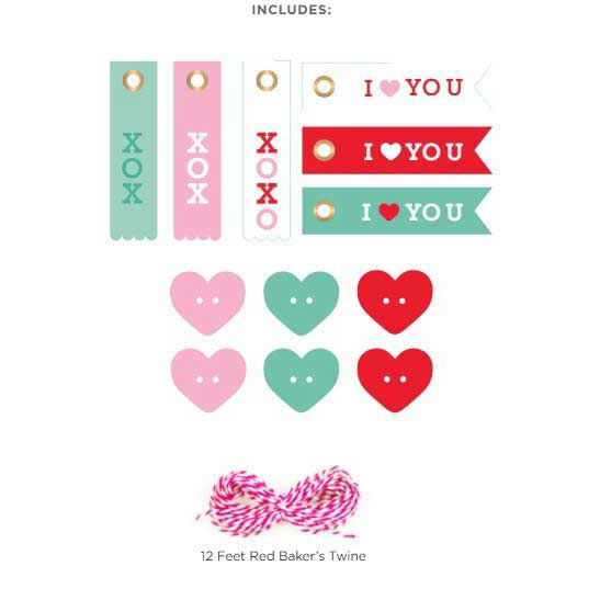 Lots of Love Tag Kit