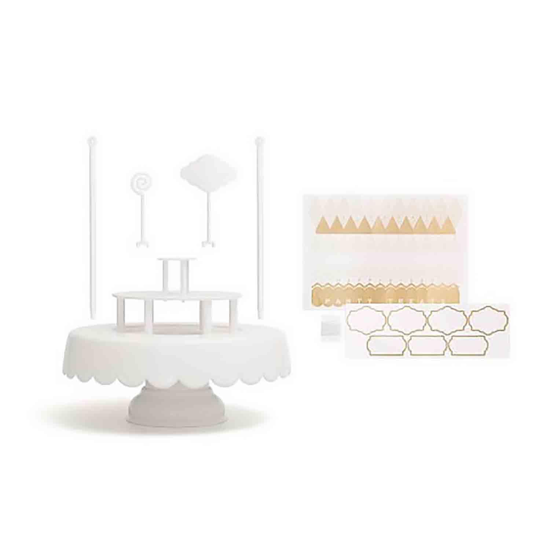 Magic Sweet Cake Stand Set - White