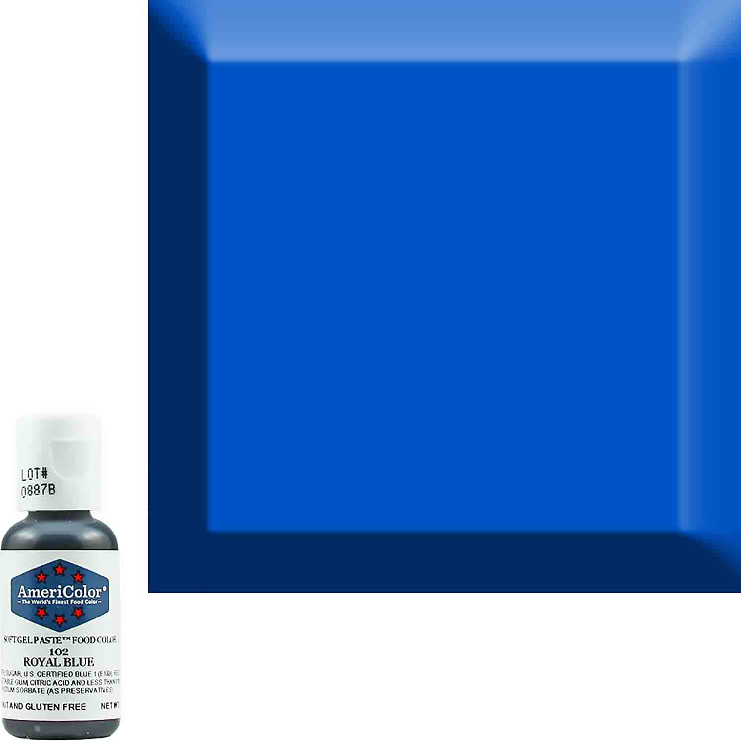 Royal Blue Americolor® Soft Gel Paste Food Color (Old # 41-8002)