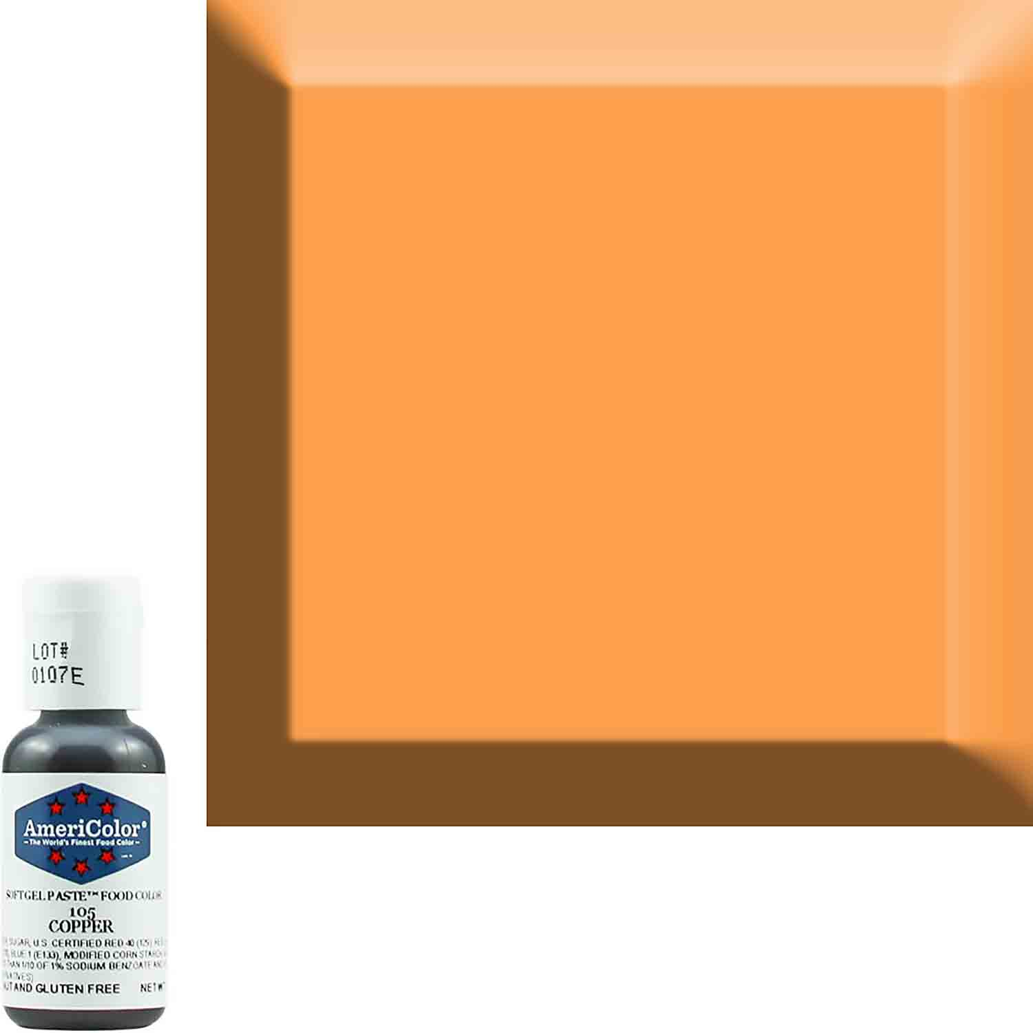 Copper AmeriColor® Soft Gel Paste™ Food Color