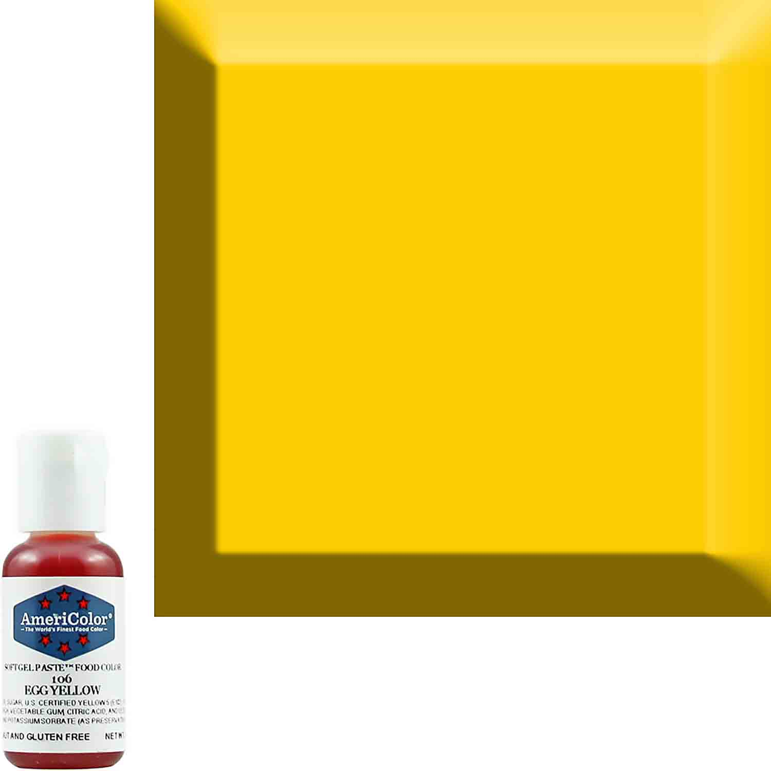 Egg Yellow AmeriColor® Soft Gel Paste™ Food Color