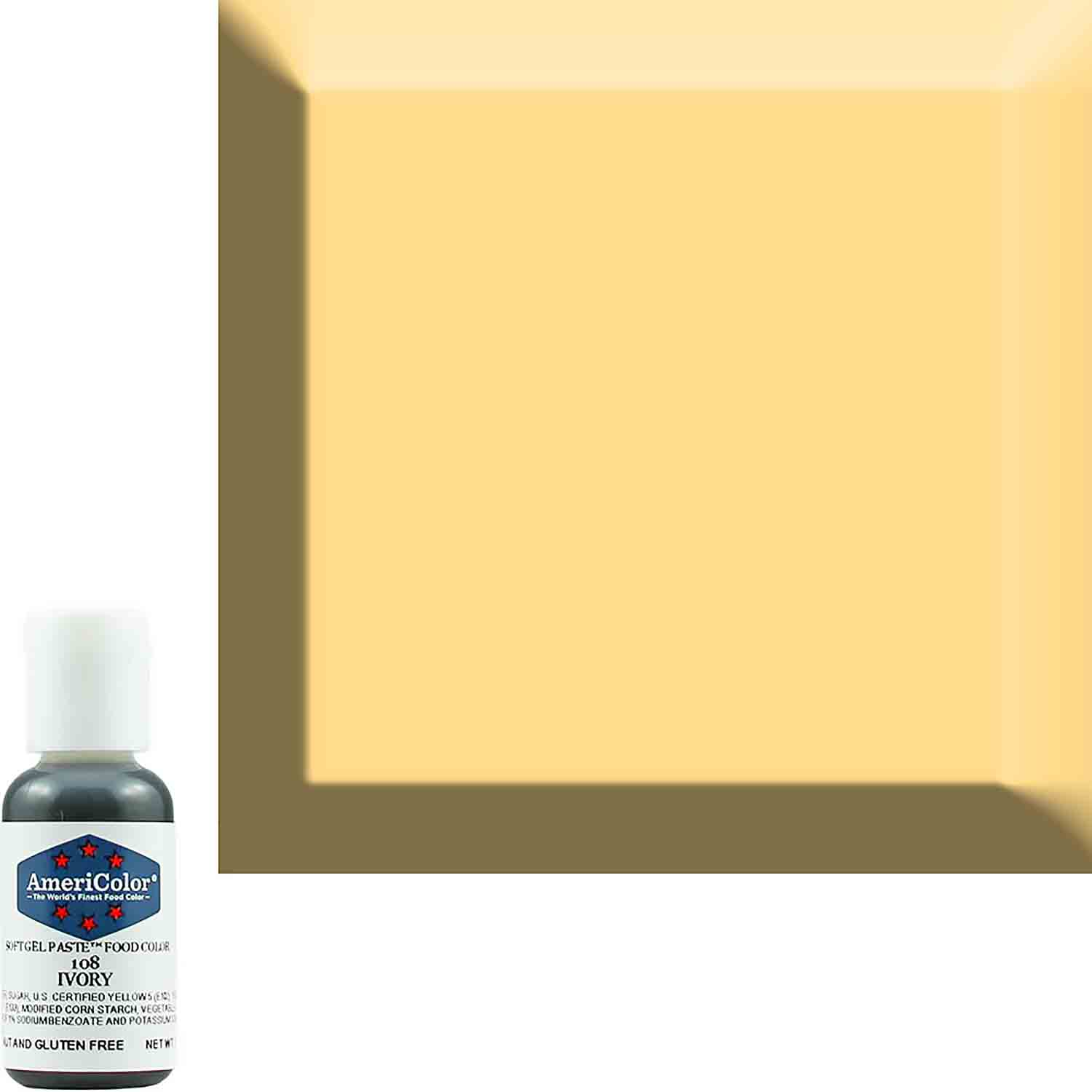 Ivory Soft Gel Paste™ Food Color