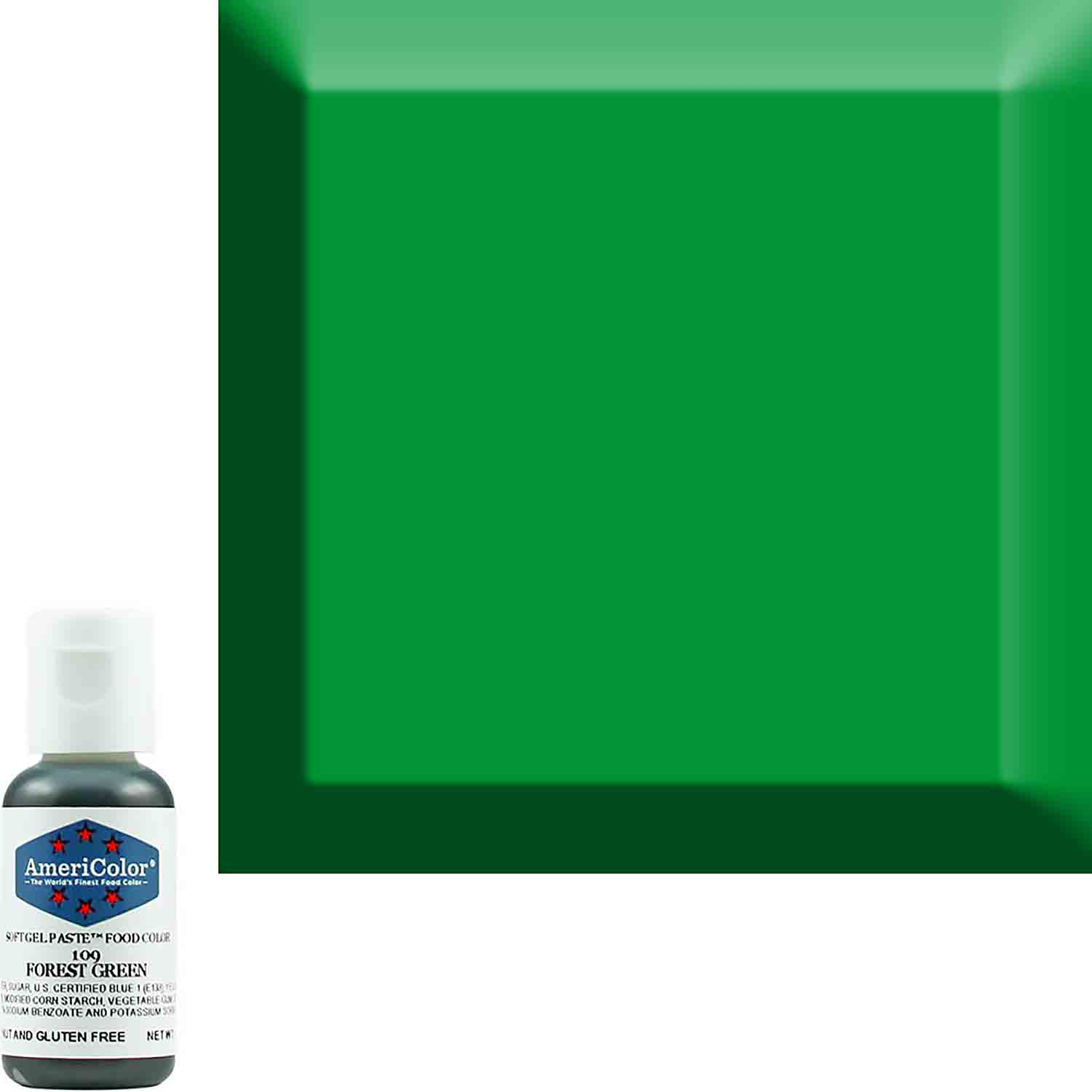 Forest Green Soft Gel Paste™ Food Color