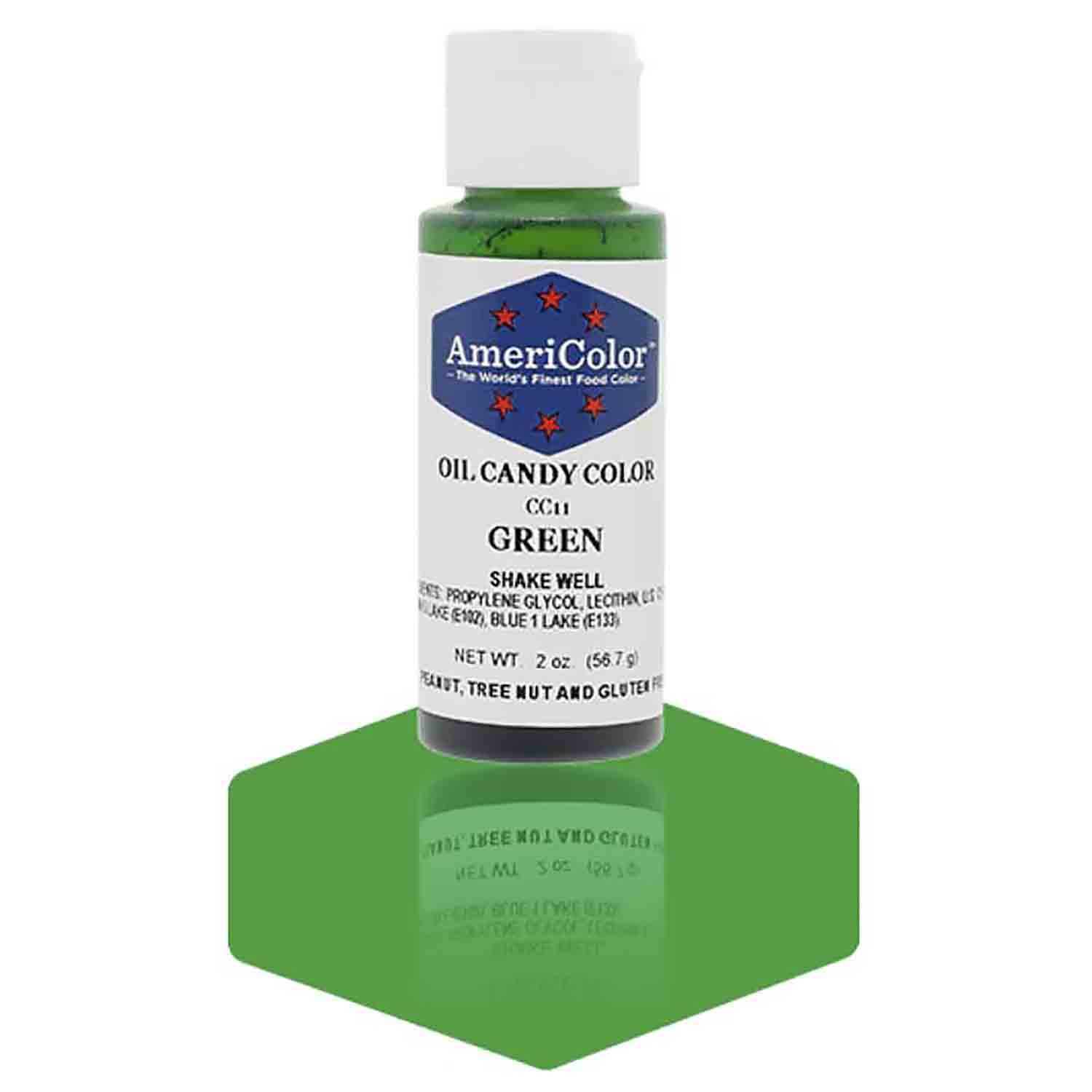 Green Americolor® Oil Candy Color