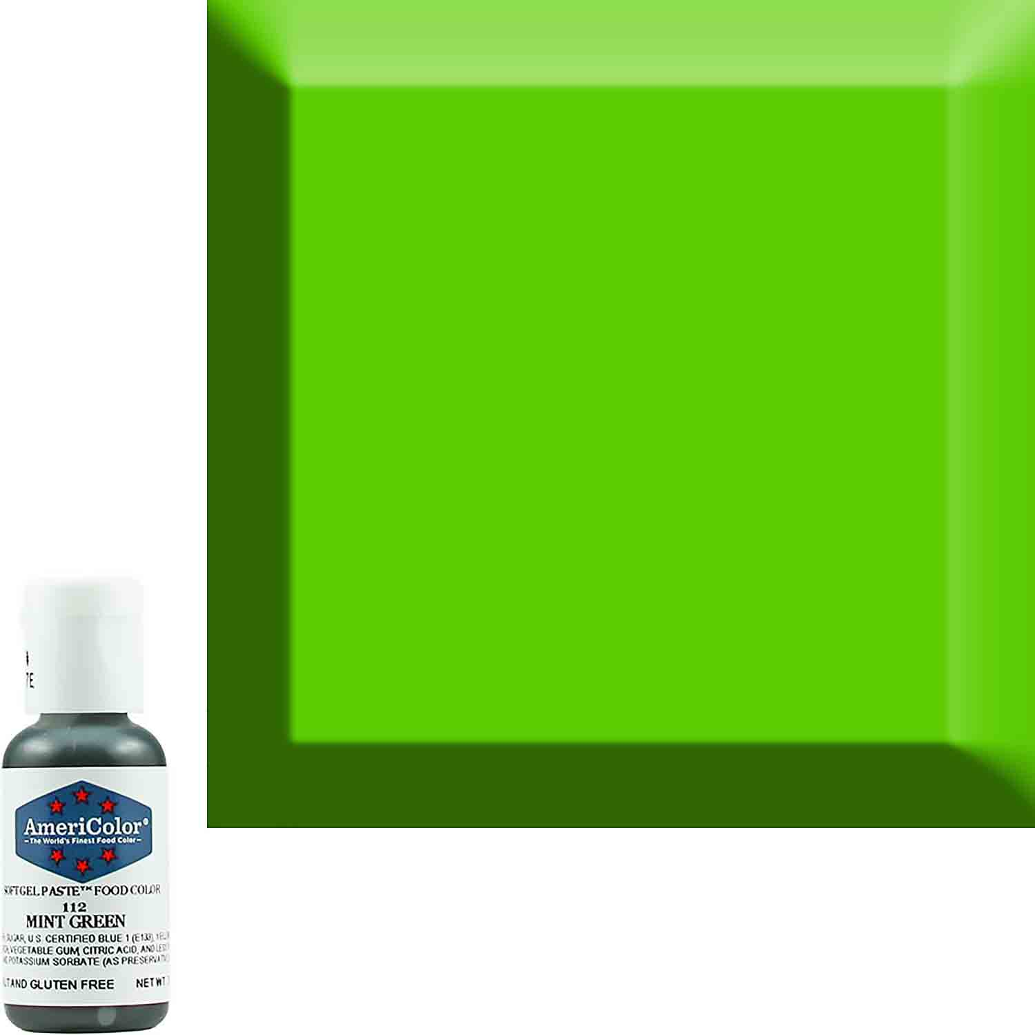 Mint Green Soft Gel Paste™ Food Color