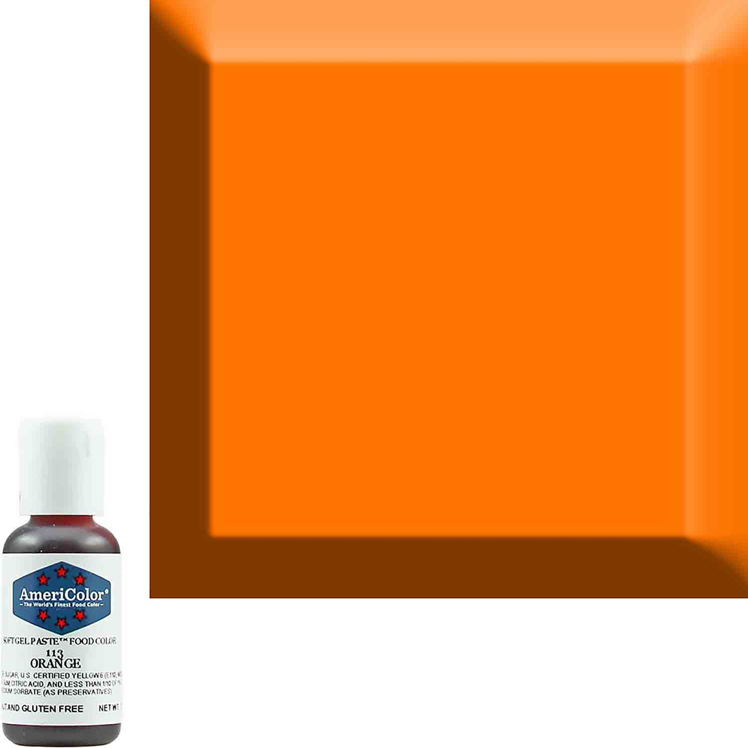 Orange AmeriColor® Soft Gel Paste™ Food Color