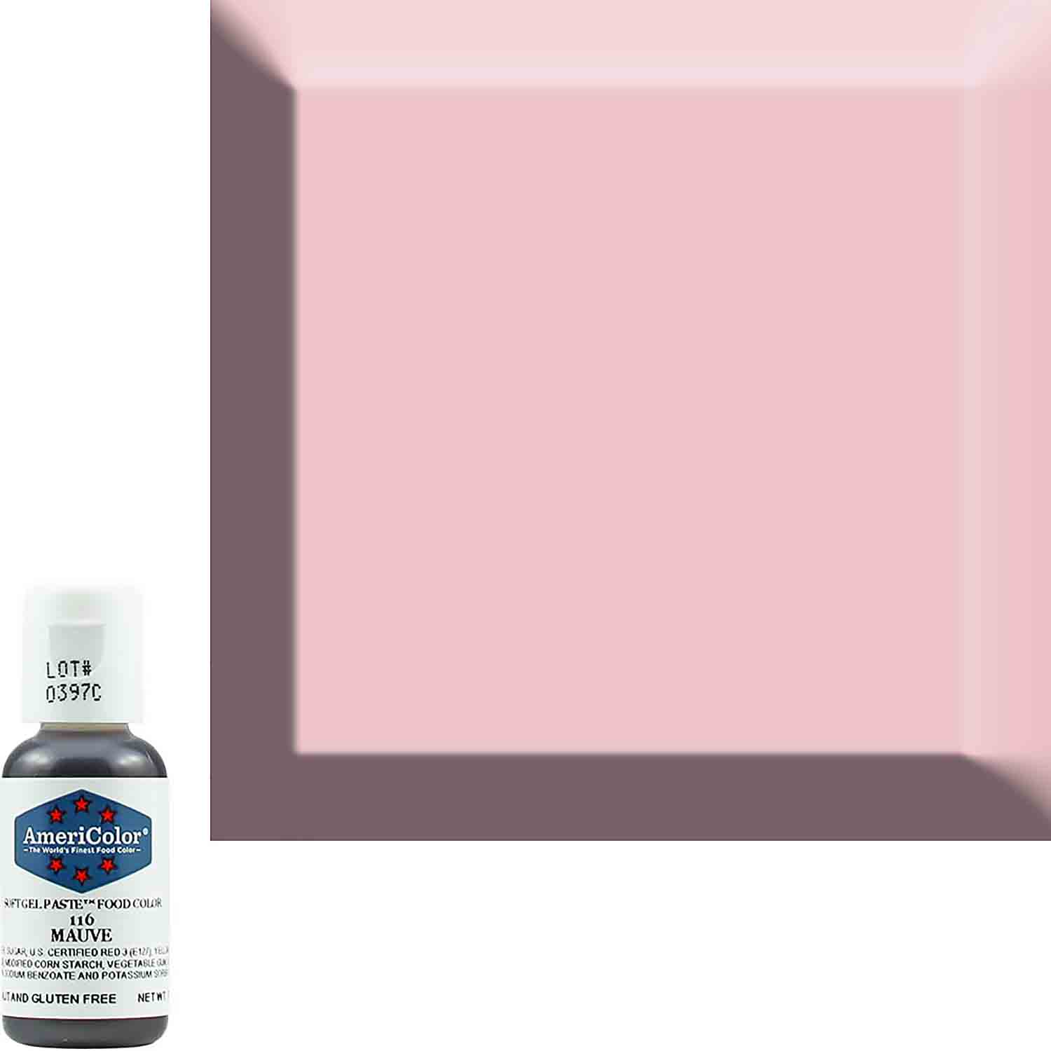 Mauve Americolor® Soft Gel Paste Food Color (Old # 41-8016)