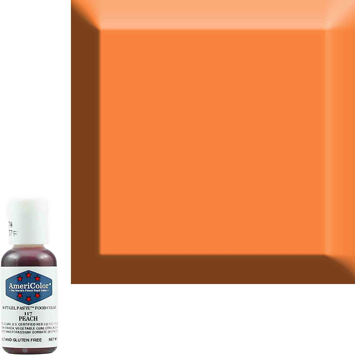 Peach AmeriColor® Soft Gel Paste™ Food Color
