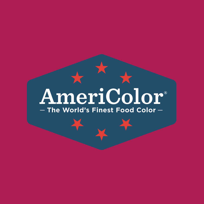Burgundy Americolor® Soft Gel Paste Food Color (Old # 41-8018)