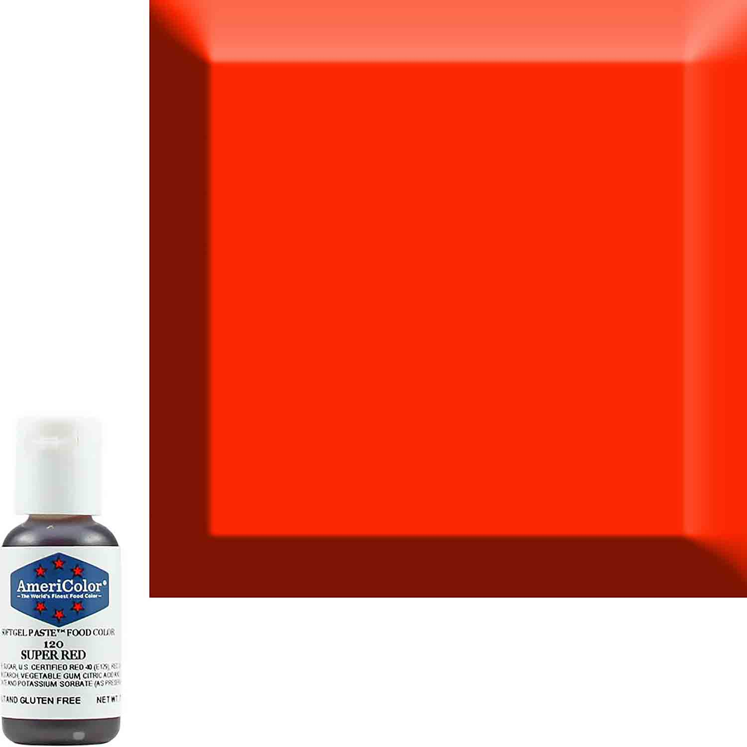 Super Red Americolor® Soft Gel Paste Food Color (Old # 41-8020)