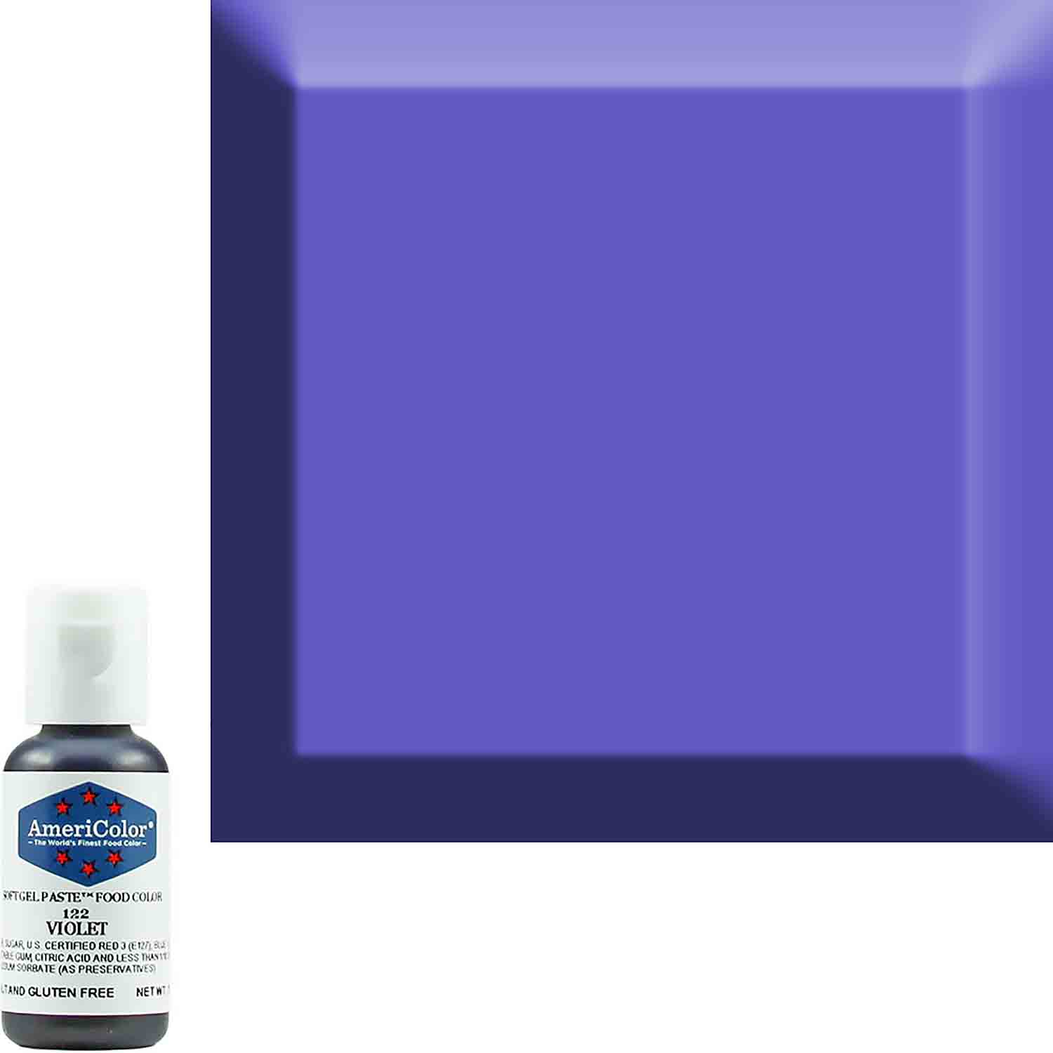 Violet Americolor® Soft Gel Paste Food Color (Old # 41-8022)