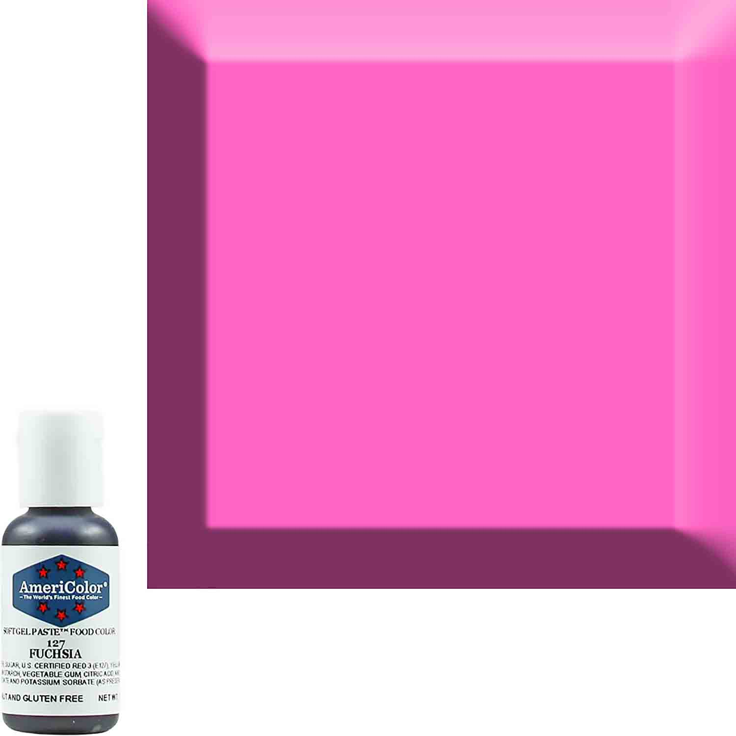Fuchsia AmeriColor® Soft Gel Paste™ Food Color