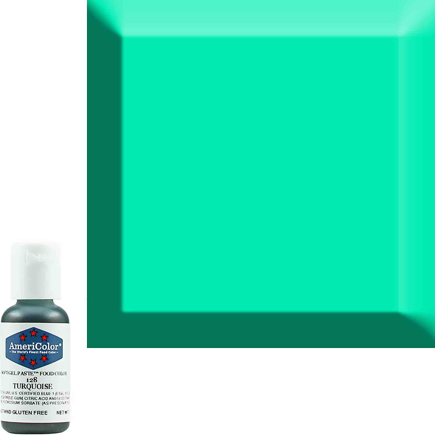 Turquoise AmeriColor® Soft Gel Paste™ Food Color