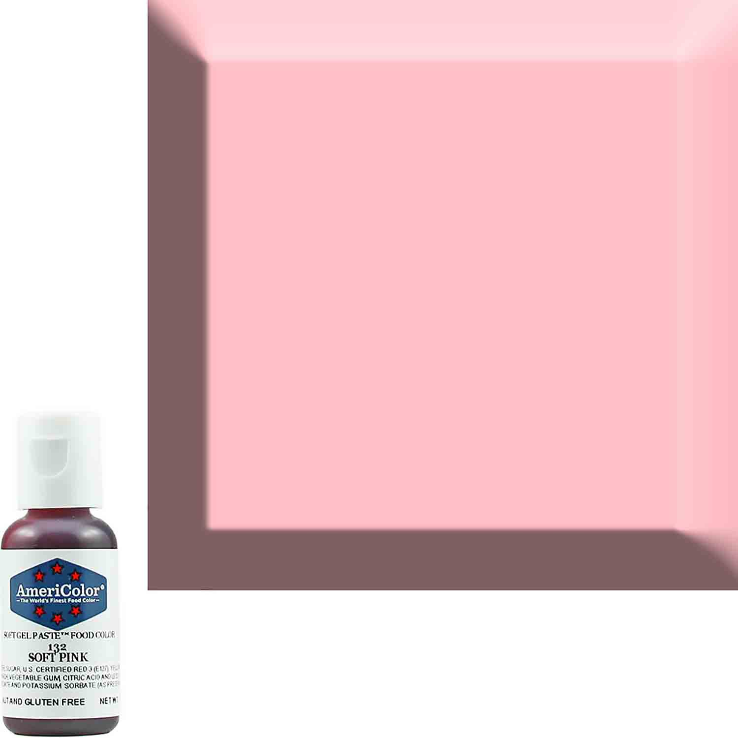 Soft Pink Americolor® Soft Gel Paste Food Color (Old # 41-8032)