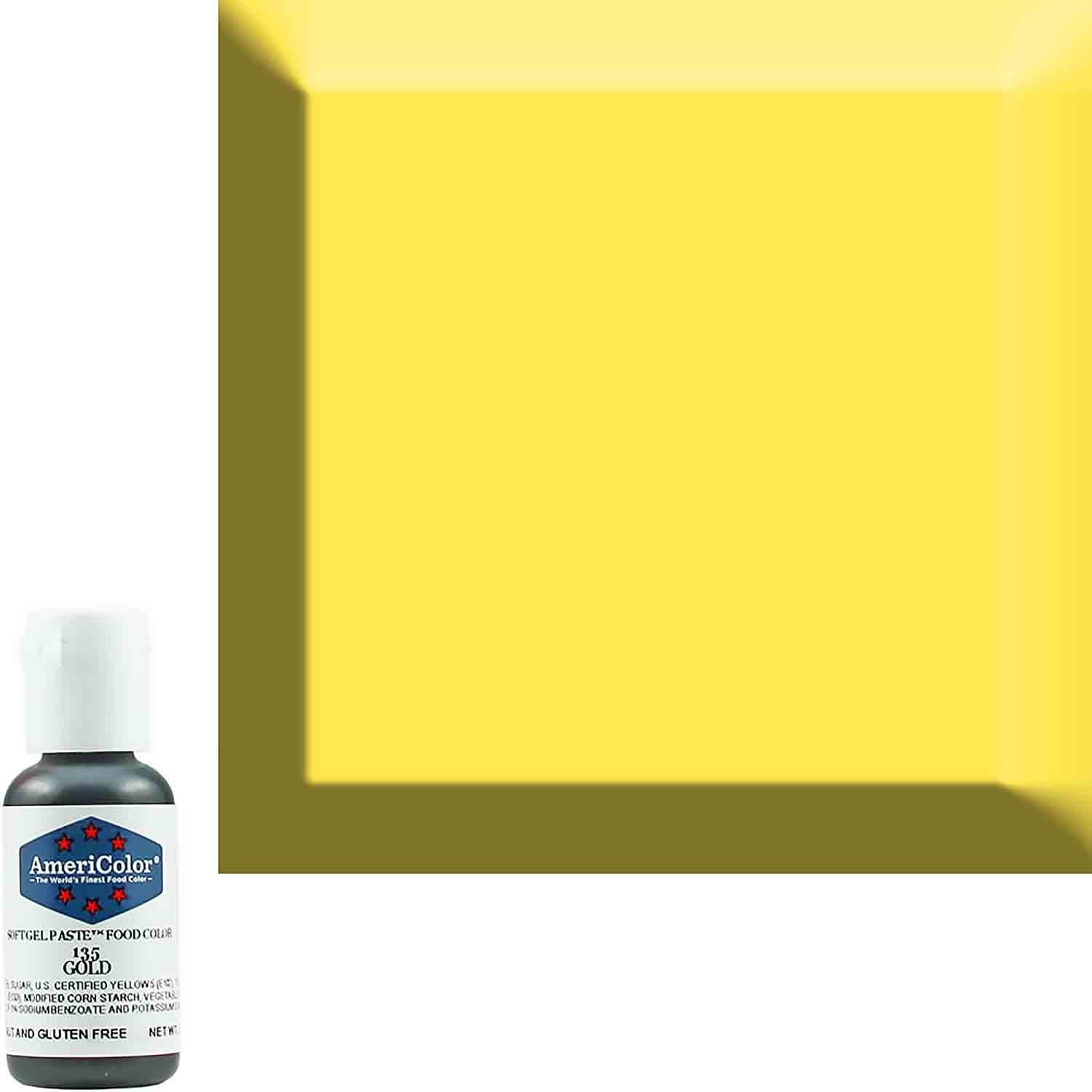 Gold AmeriColor® Soft Gel Paste™ Food Color