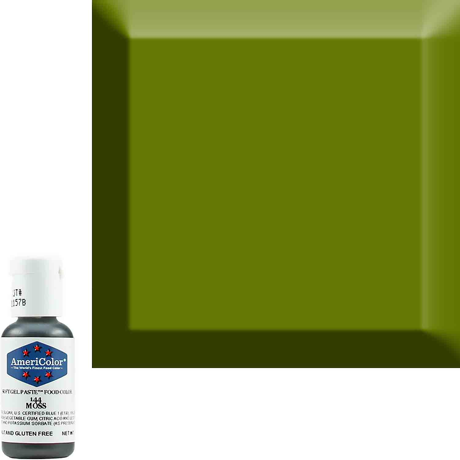Moss AmeriColor® Soft Gel Paste™ Food Color