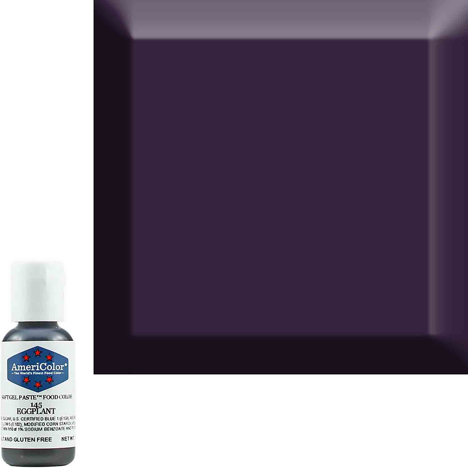 Eggplant Soft Gel Paste™ Food Color by Americolor®