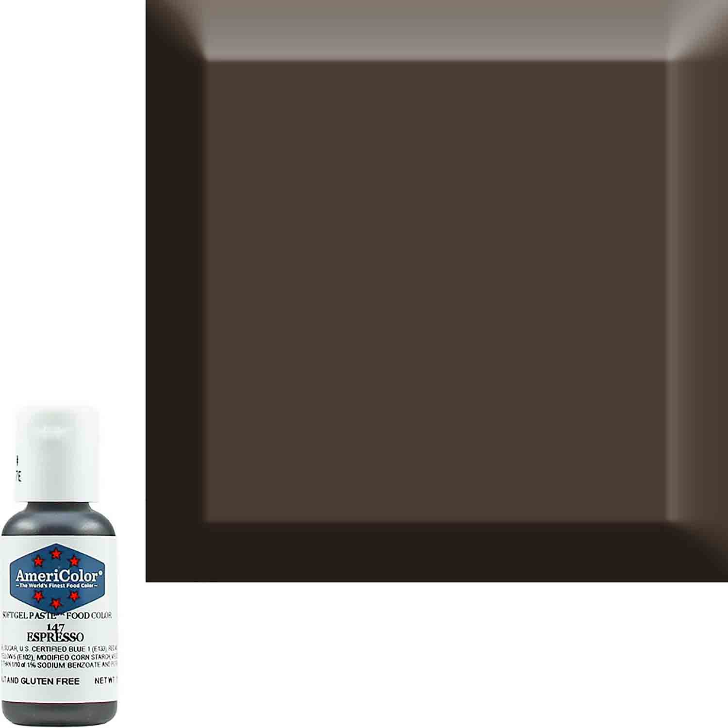 Espresso Soft Gel Paste™ Food Color by Americolor®