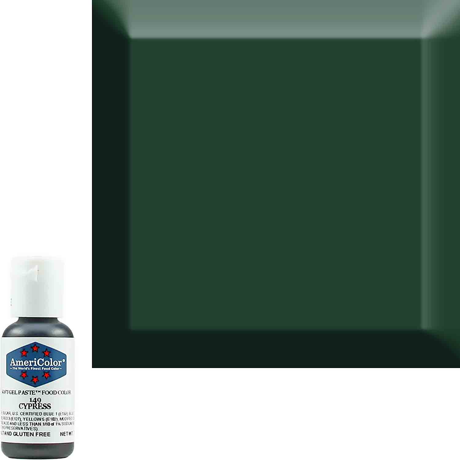 Cypress Soft Gel Paste™ Food Color by Americolor®