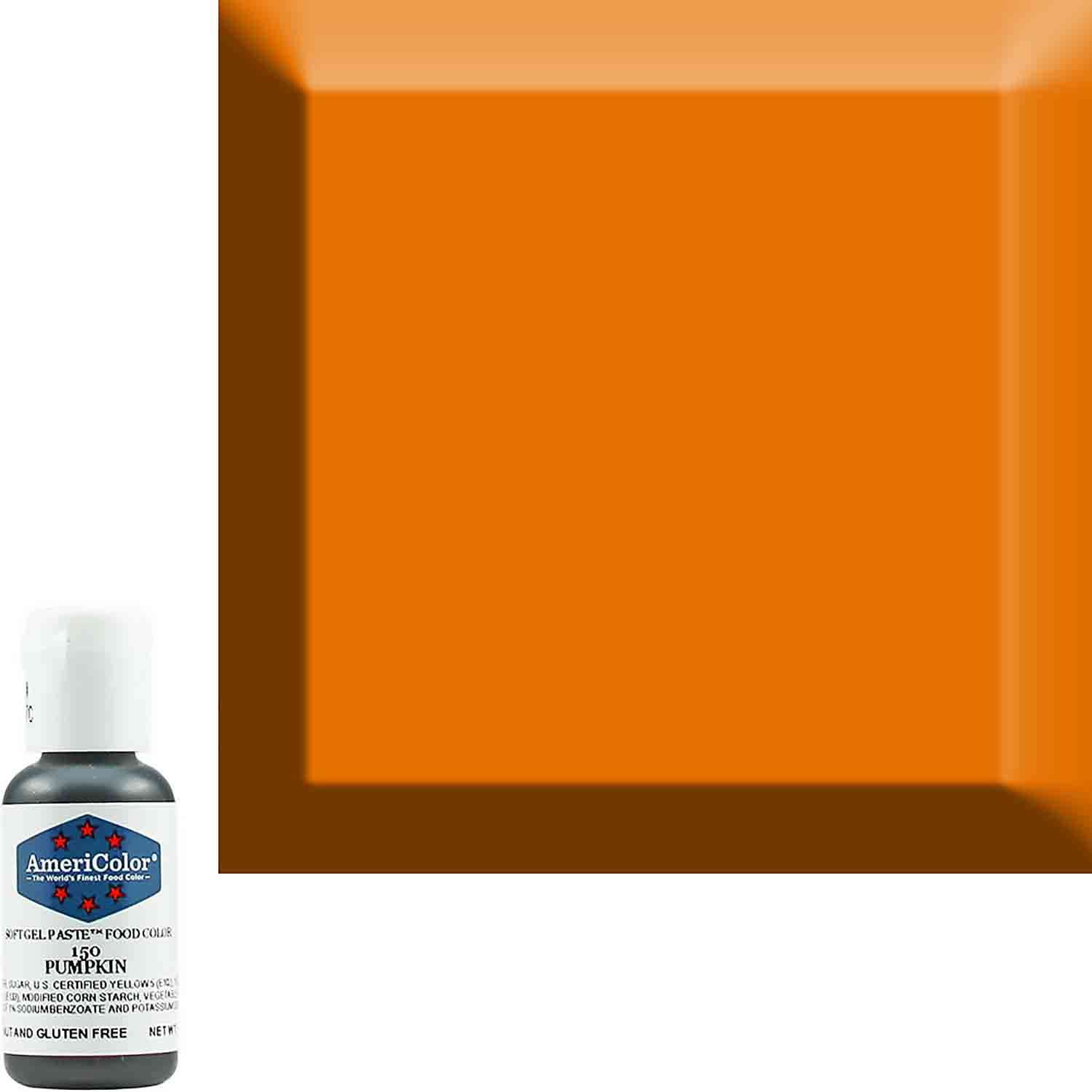 Pumpkin AmeriColor® Soft Gel Paste™ Food Color