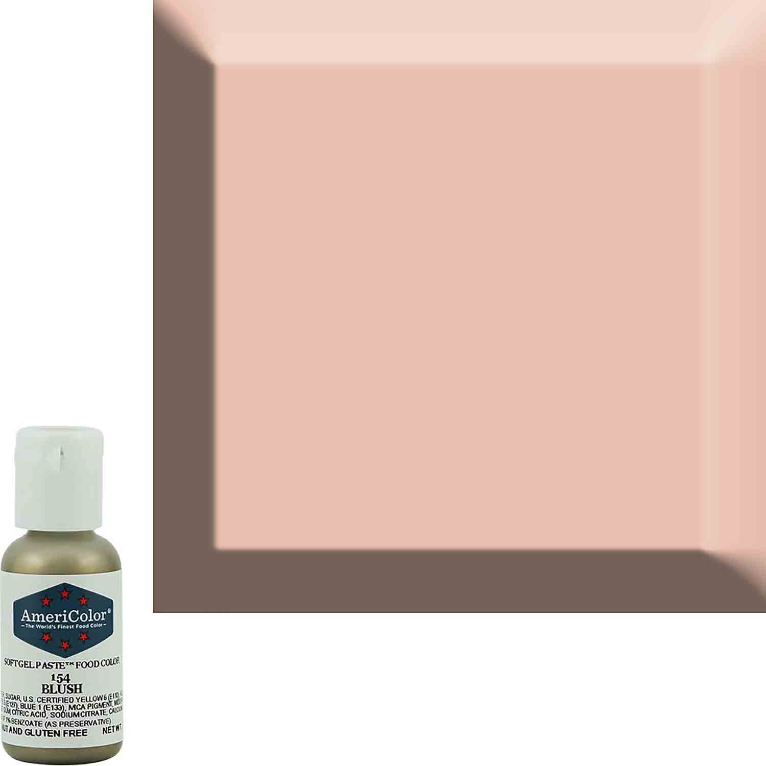 Blush Americolor® Soft Gel Paste Food Color
