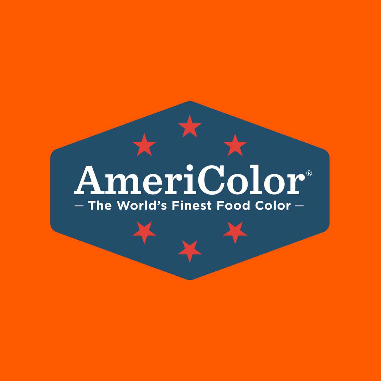 Neon/Electric Orange Americolor® Soft Gel Paste Food Color (Old # 41-7963)