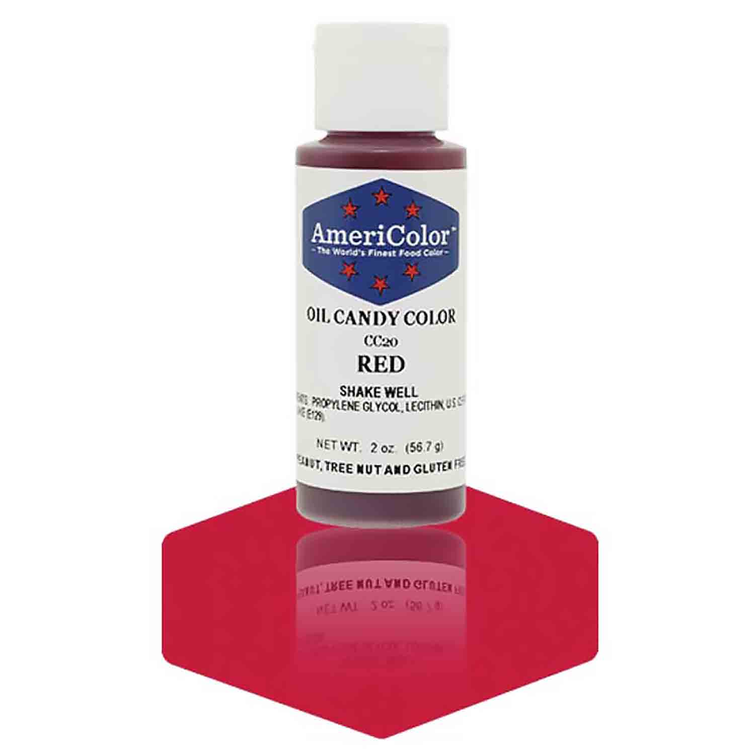 Red AmeriColor® Oil Candy Color