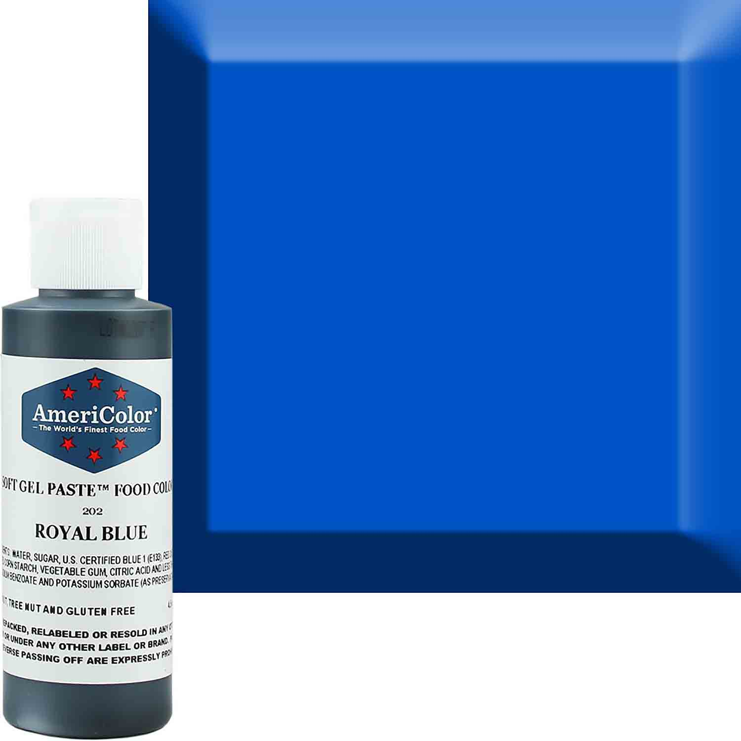 Royal Blue AmeriColor® Soft Gel Paste™ Food Color