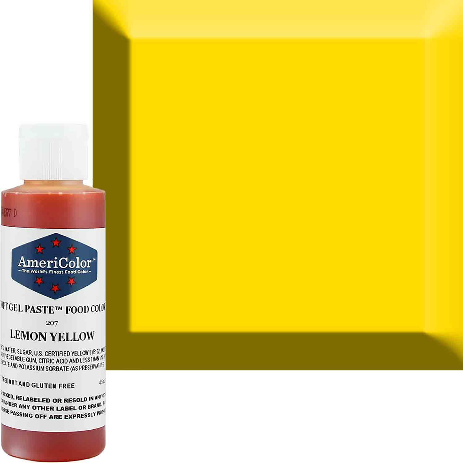 Lemon Yellow Soft Gel Paste™ Food Color