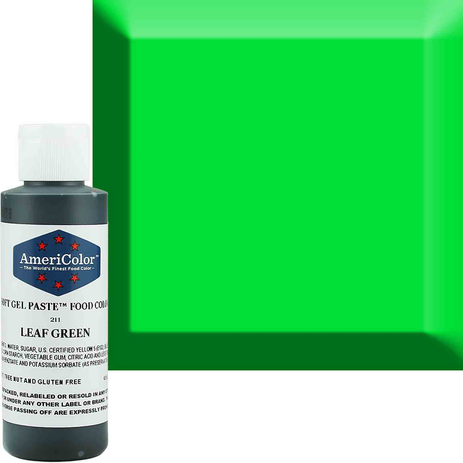 Leaf Green AmeriColor® Soft Gel Food Color (Old # 41-7811)