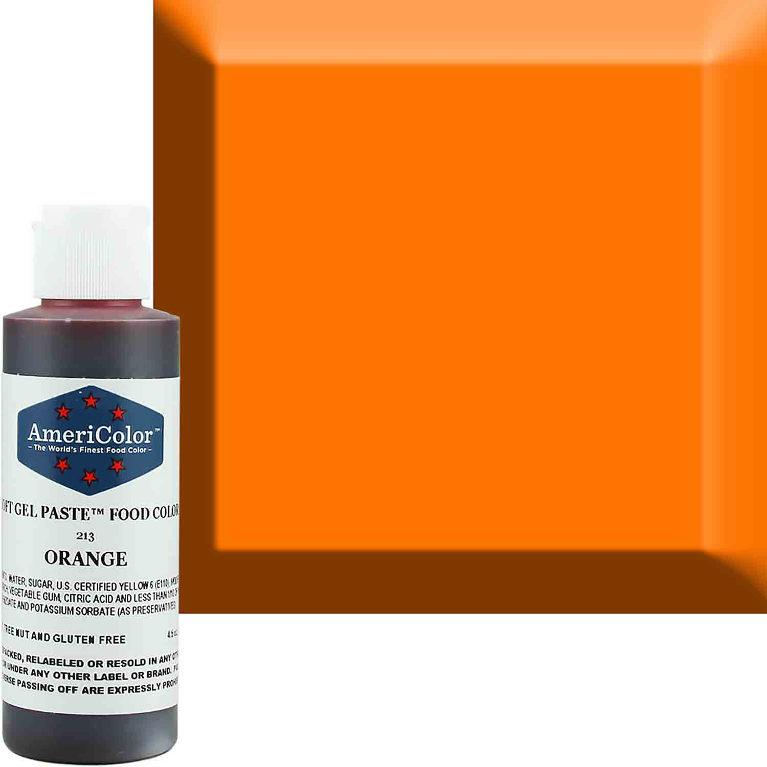 Orange Americolor® Soft Gel Paste Food Color (Old # 41-7813)