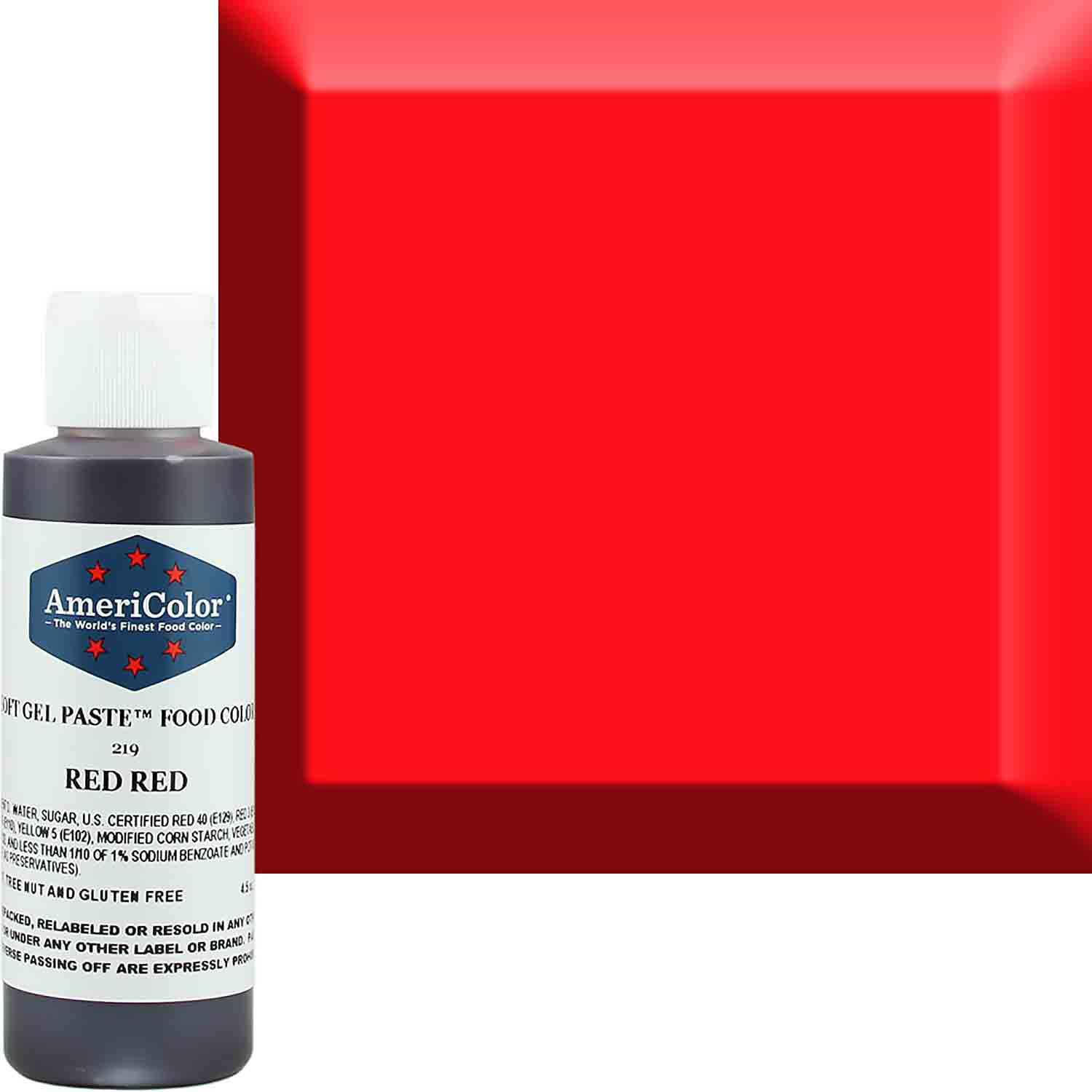 Red Red Americolor® Soft Gel Paste Food Color (Old # 41-7819)