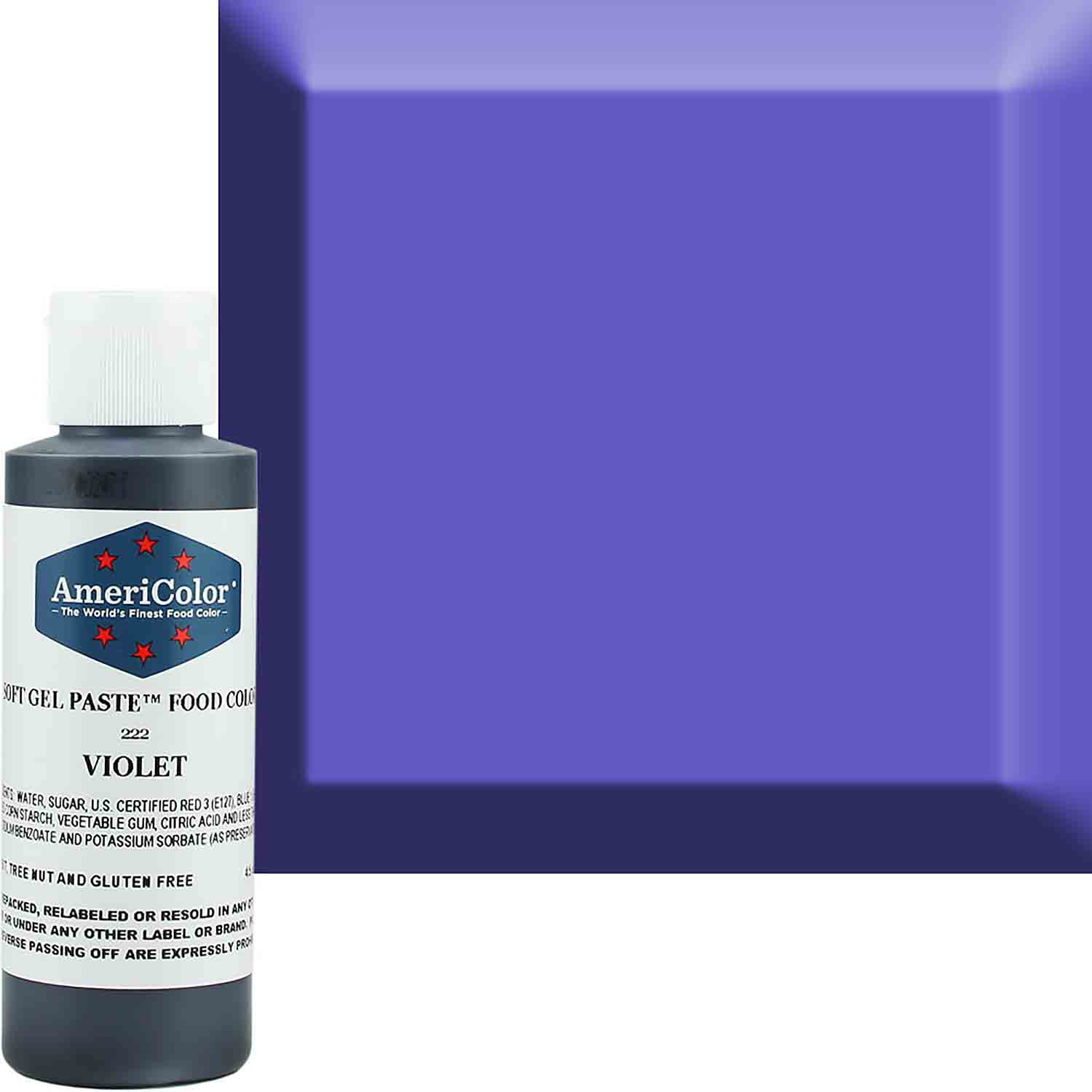 Violet Americolor® Soft Gel Paste Food Color (Old # 41-7822)