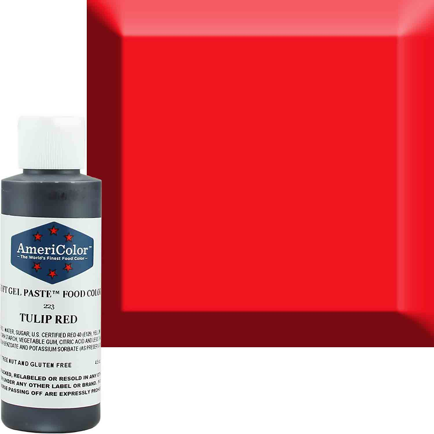 Tulip Red Americolor® Soft Gel Paste Food Color