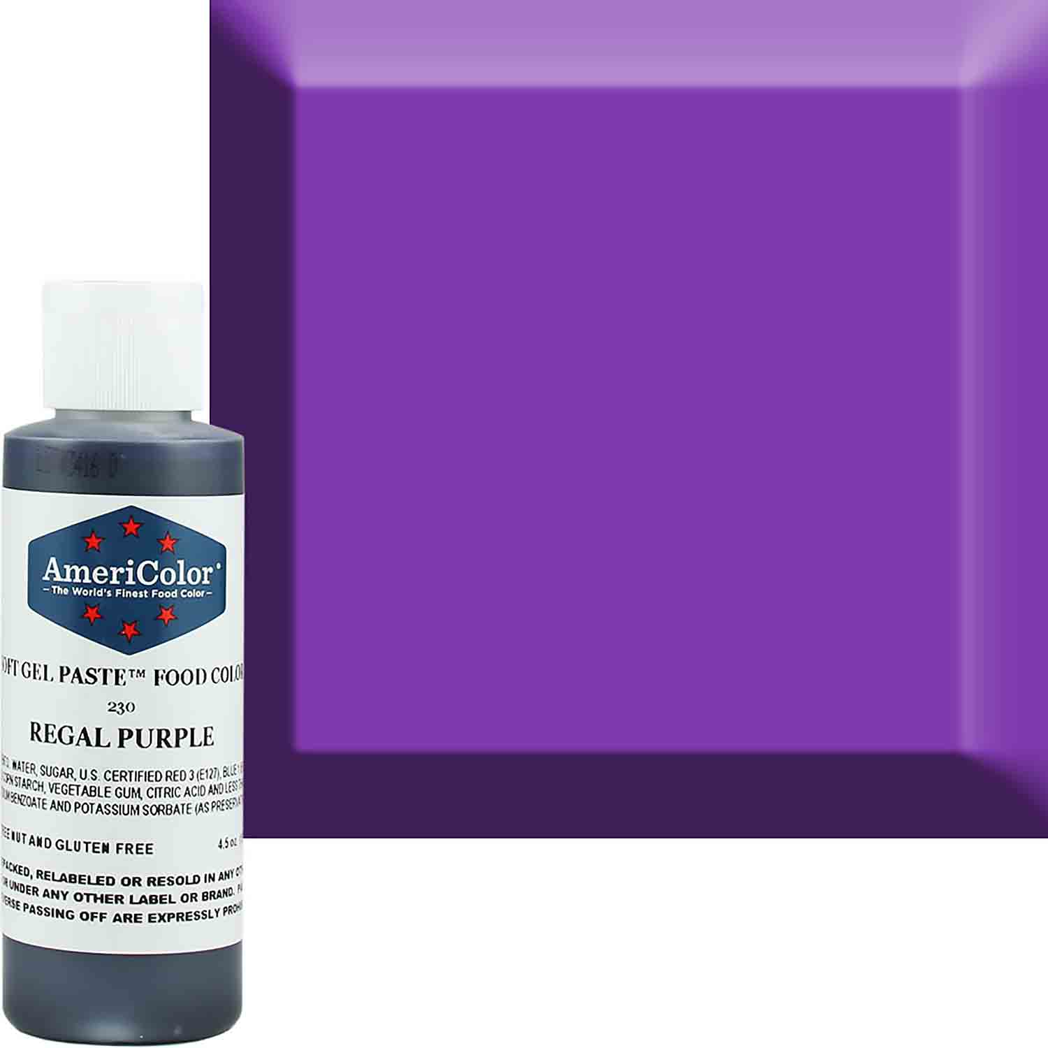 Regal Purple Americolor® Soft Gel Paste Food Color (Old # 41-7830)