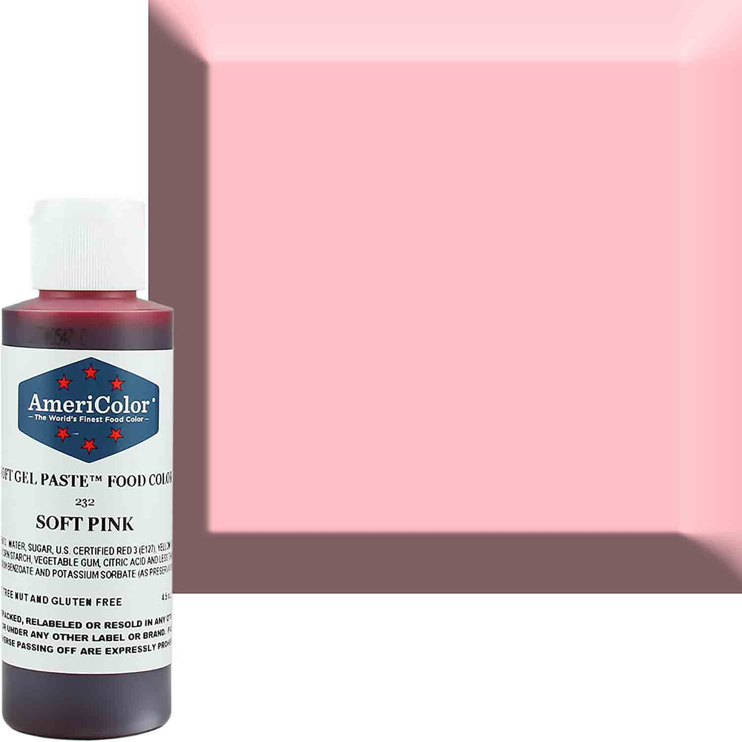 Soft Pink Americolor® Soft Gel Paste Food Color (Old # 41-7832)