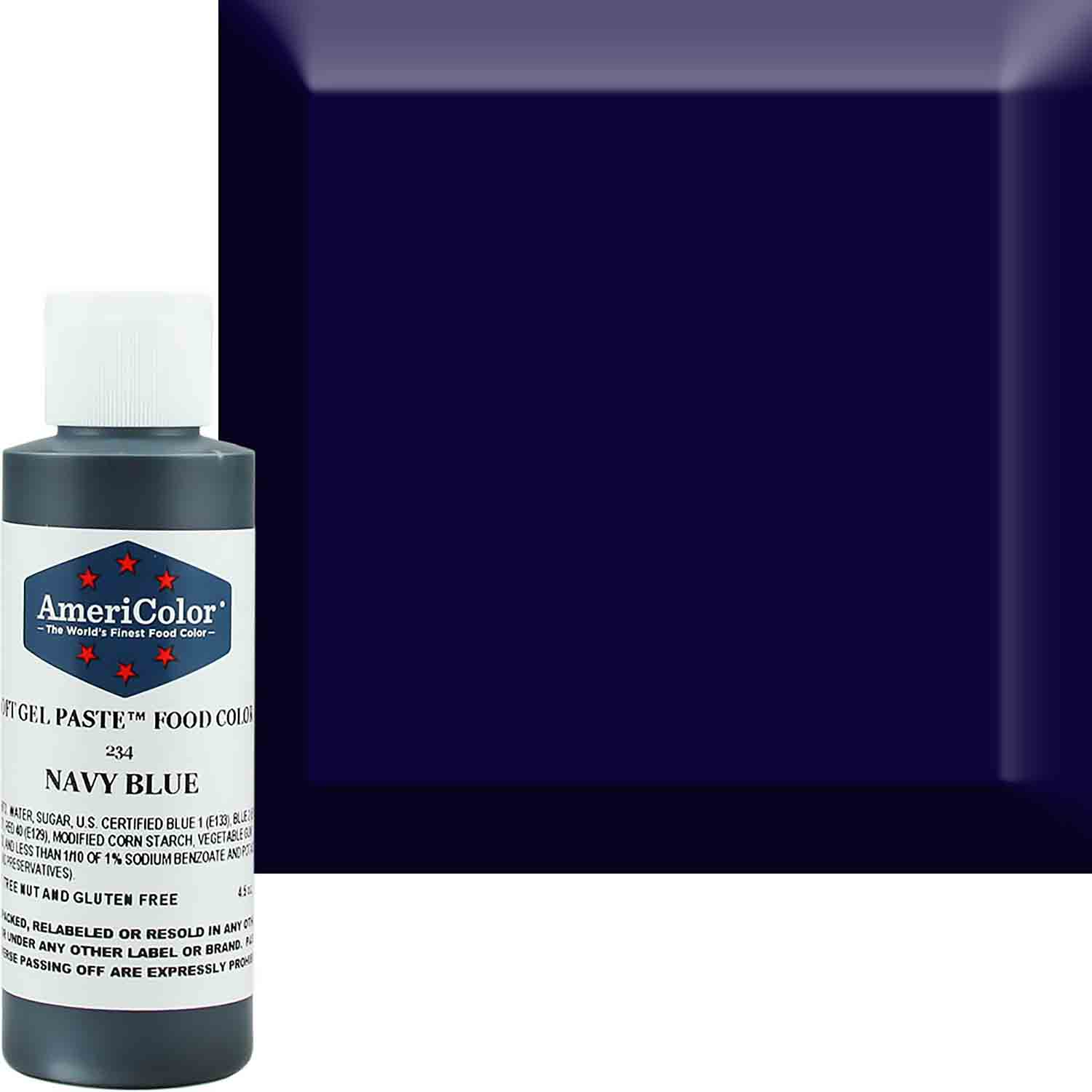 Navy Blue Soft Gel Paste™ Food Color